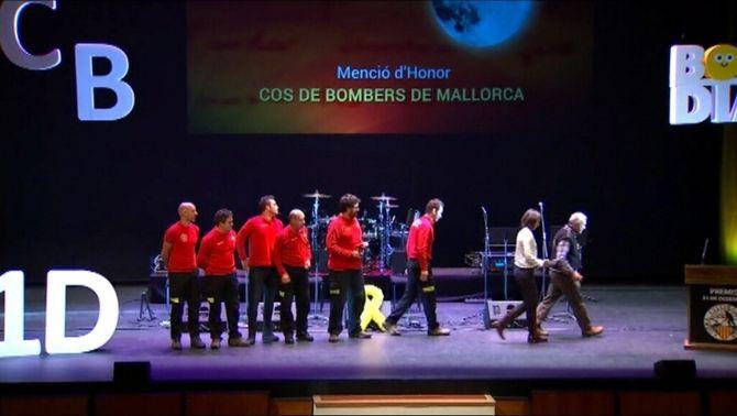 La situació a Catalunya marca la gala dels Premis 31 de Desembre a Palma