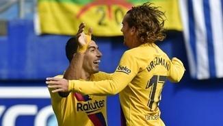"""Eibar, 0 - Barça, 3. Els gols a """"LaTdT"""""""