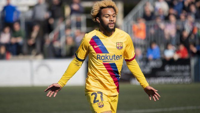 Konrad de la Fuente vol marxar del Barça