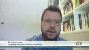 Pere Aragonès demana l'abdicació de Felip VI
