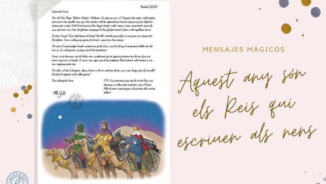 Creen una plataforma en línia per imprimir cartes personalitzades dels Reis de l'Orient per als infants
