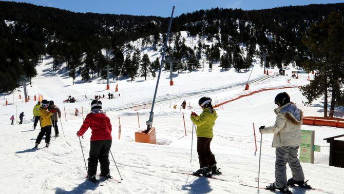 Dilluns obriran totes les estacions d'esquí de Catalunya
