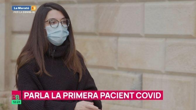 """La primera pacient Covid a Catalunya: """"M'esgarrifa pensar quantes persones hauria pogut contagiar"""""""