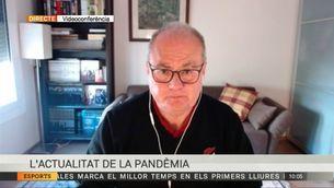 Entrevista a Antoni Trilla, cap d'Epidemiologia i Medicina Preventiva de l'Hospital Clínic
