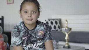 Una nena argentina de 8 anys supera Messi i Neymar