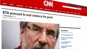 """La CNN, la BBC o el diari francès """"Libération"""" han recollit la notícia."""