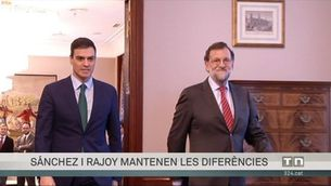 Sánchez i Rajoy mantenen les diferències