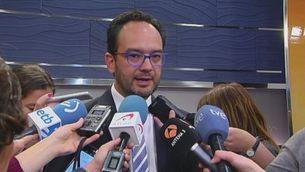 Declaracions d'Hernando sobre una reunió a tres dilluns