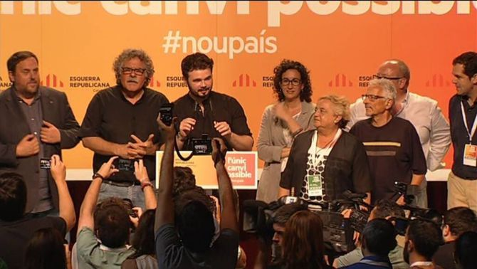 """Rufián i Junqueras: """"Espanya és irreformable"""""""