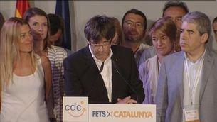 Puigdemont afirma que el referèndum no gaudeix de bona salut