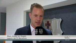 Ter Stegen firma la renovació fins al 2022