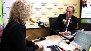 """Quim Torra, aquest dilluns, a """"El matí de Catalunya Ràdio"""""""