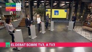 El debat sobre TV3, a TV3