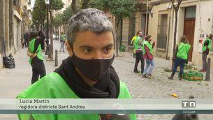 El districte de Sant Andreu de Barcelona fa melmelada dels tarongers urbans per a les entitats socials del barri