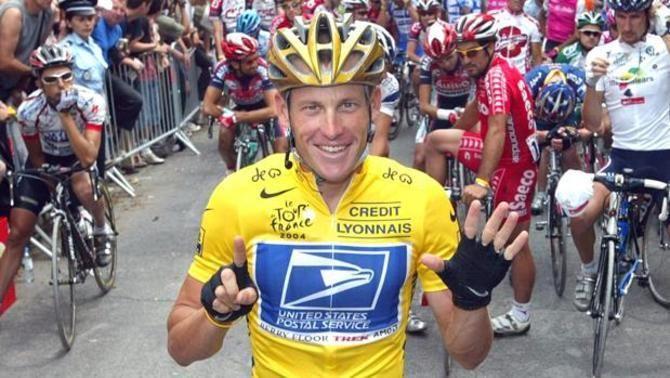 Les imatges de Lance Armstrong que podrien delatar com activava el motor de la bicicleta