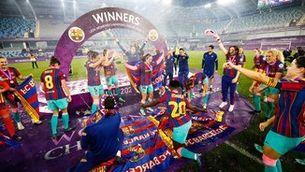 El Barça, campió d'Europa