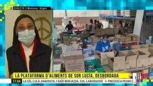 Sor Lucía Caram demana ajuda per als més vulnerables