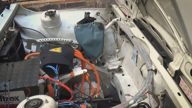 Interior d'un vehicle Seat 127 electrificat
