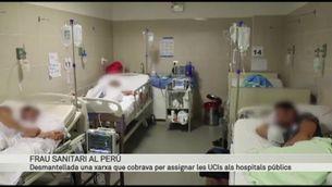 Desmantellen una xarxa que cobrava per assignar UCis als hospitals públics del Perú