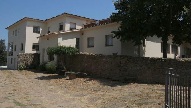 Pla general de la casa de colònies on estava ubicat el centre de menors l'Estany de Sant Gregori aquest divendres 30 de juliol de 2021. (Horitz…