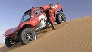 Carles Checa, al Dakar en cotxes