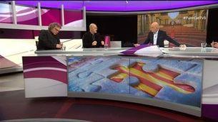 """.CAT"" amb Raül Romeva, Joan Tardà i Vicki Bernadet"
