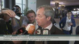El Brexit protagonitza el ple del Parlament Europeu