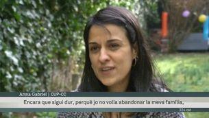 """Anna Gabriel a la TV suïssa: """"Si demanen la meva extradició, sol·licitaré asil polític"""""""