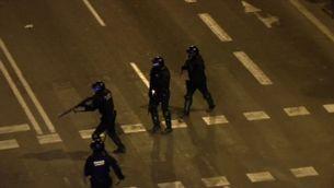 Intent d'assalt al Parlament i càrregues a la Via Laietana