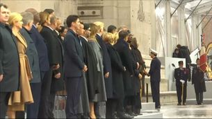 Cent anys de la Primera Guerra Mundial a París. Macron fa una crida a no oblidar i aprendre del passat