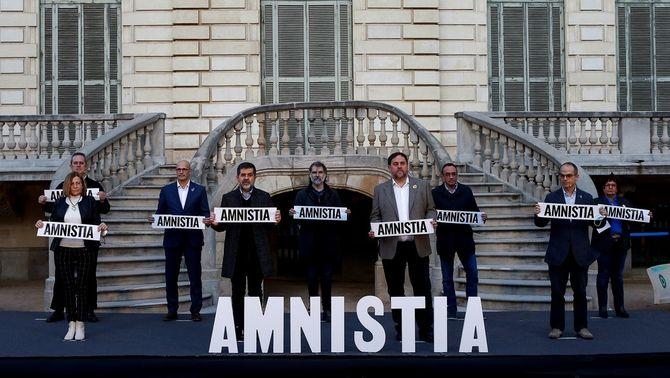 Els presos de l'1-O fan una crida a votar per l'amnistia i el retorn dels exiliats