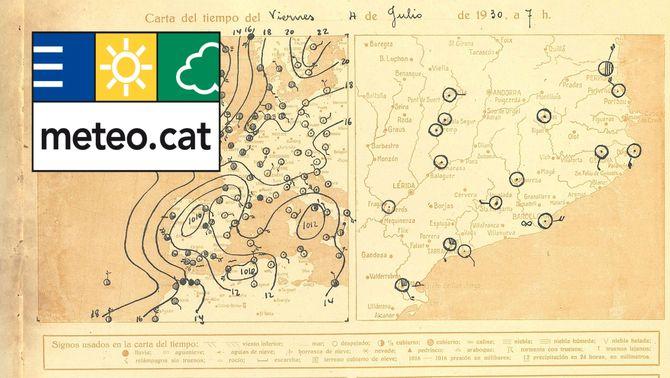 El Servei Meteorològic de Catalunya fa 100 anys