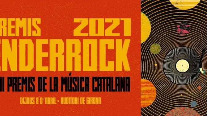 La 23a edició dels Premis Enderrock de la Música Catalana 2021, al 33 i a l'emissora iCat