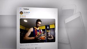 Pau Gasol debutarà amb el Barça aquest divendres a l'Eurolliga