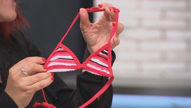 Biquinis que sexualitzen les nenes: sostenidors per als 3 anys?