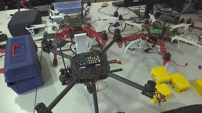 Drons experimentals a la UPC
