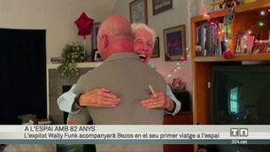 L'expilot Wally Funk, de 82 anys, acompanyarà Jeff Bezos en el seu primer viatge a l'espai