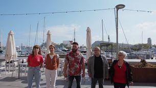 """Estrena de """"Joc de cartes estiu"""", a la Barceloneta, amb Marc Ribas"""
