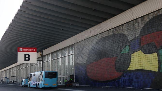 La terminal T2 de l'aeroport del Prat