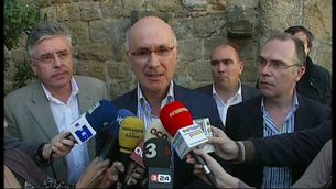 Duran i Lleida compareix per valorar l'anunci de Zapatero.