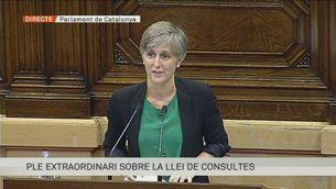 Intervenció de Dolors Camats d'ICV-EUiA al ple de la Llei de Consultes