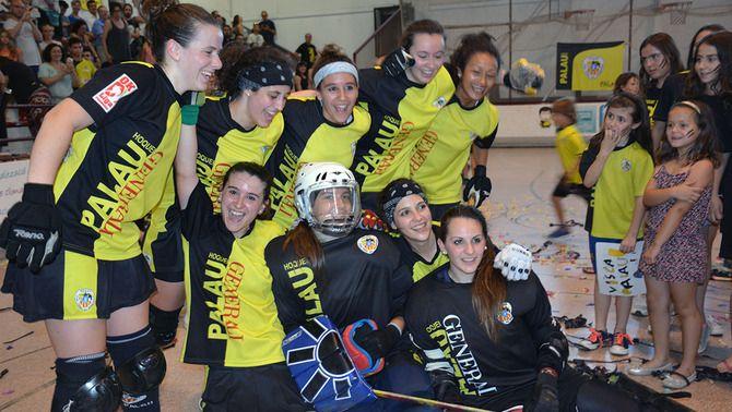 El Palau de Plegamans guanya la seva primera Lliga femenina