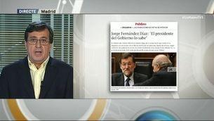 """Carlos Enrique Bayo:""""Qui grava la conversa és Daniel de Alfonso"""""""