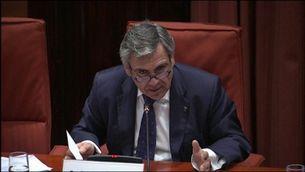 De Alfonso renya els diputats en la seva compareixença al Parlament