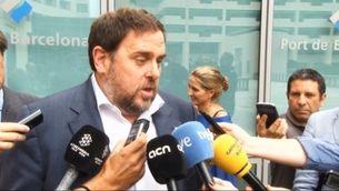 ERC i C's reaccionen a la petició de 10 anys d'inhabilització per a Mas pel 9N