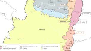 Varietats lingüístiques de l'Aragó