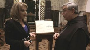 """Sílvia Còppulo i el Pare Abat de Montserrat a """"Fora de sèrie"""""""
