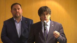 Puigdemont diu que només anirà al Congrés a defensar el referèndum si és pactat