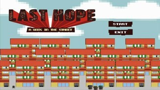 "Imatge de:""Les TIC per educar"": ""Last hope, a week in the street"""