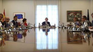Una reunió del Consell de Ministres, el mes de setembre a la Moncloa (Reuters)